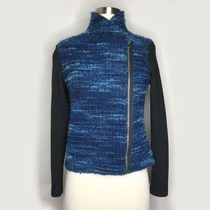 Anthropologie Dolan Boucle Moto Jacket